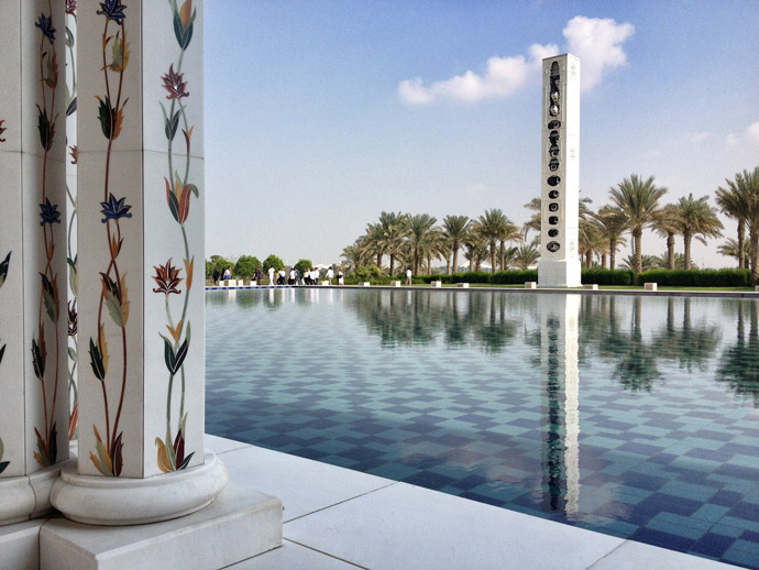 Abu-Dhabi-Sheikh Zayed Grand Mosque