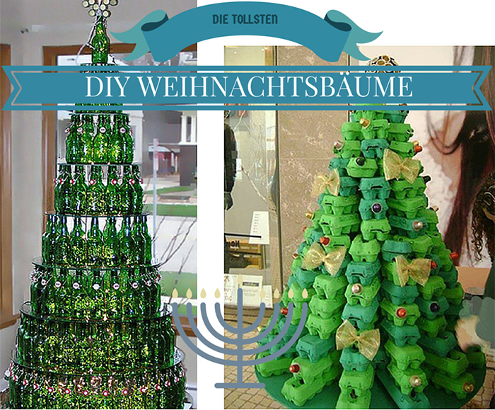 Lilies Diary Weihnachts Diy Guide Weihnachtsbäume Selber Basteln