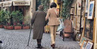Ehepaar in Rom