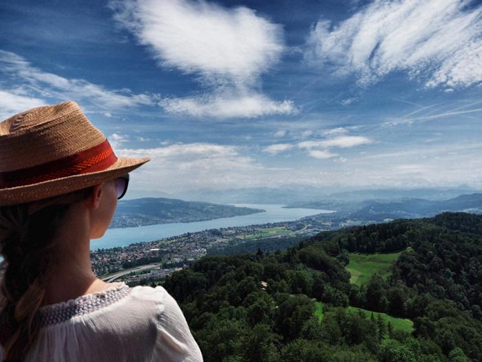Aussicht-Berg-Zürich