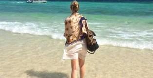 Ich Am Strand