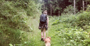 Wanderrucksack-packen