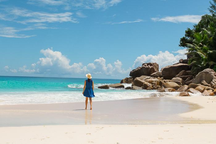 praslin beach anse