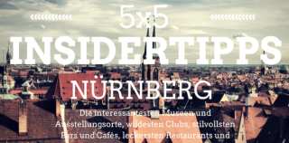 5×5 Insider Tips for Nuremberg