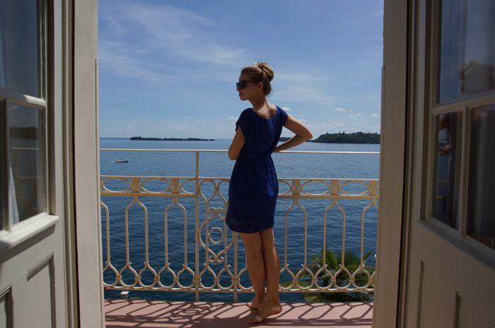 Christine Neder im Grand Hotel