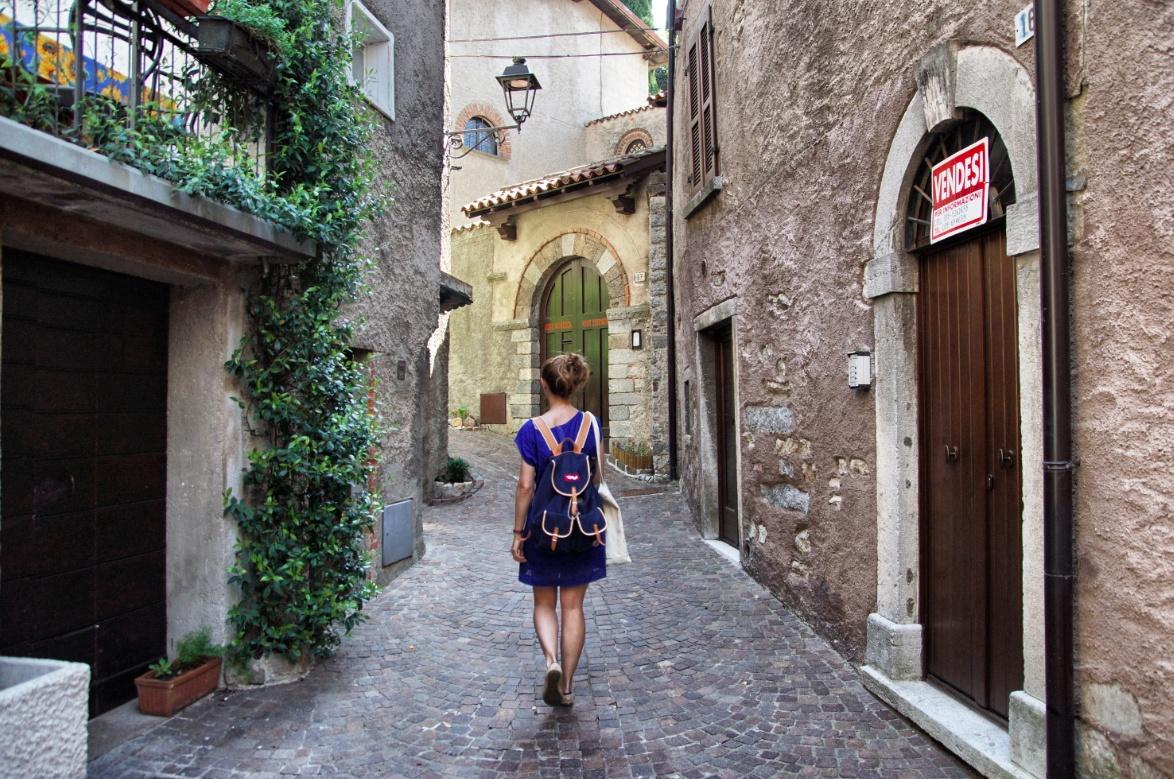 Christine Neder in Italien