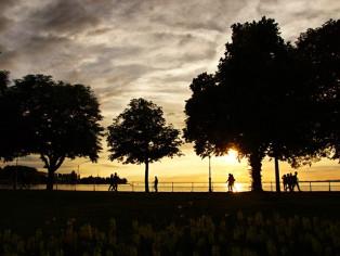 Sonnenuntergang-Bregenz
