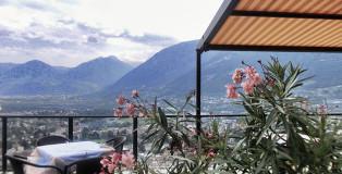 Meran-Ausblick-Dorf-Tirol