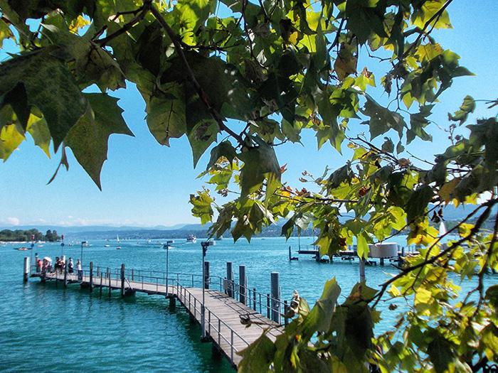 Schweiz-Zürichsee-Blätter