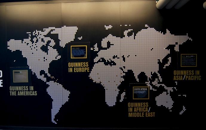 Guinness Storehouses weltweit