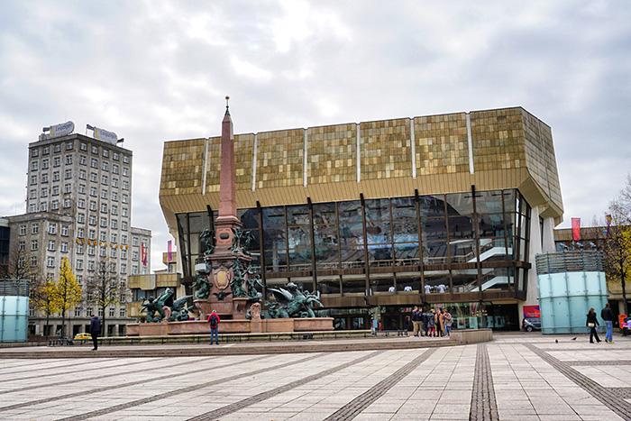 Gewandhaus am Augustplatz