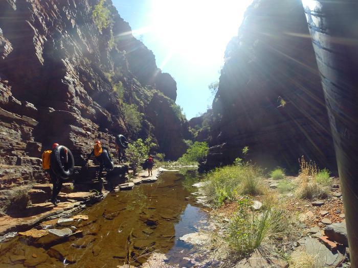 karijini-gorges-canyoning-westaustralien