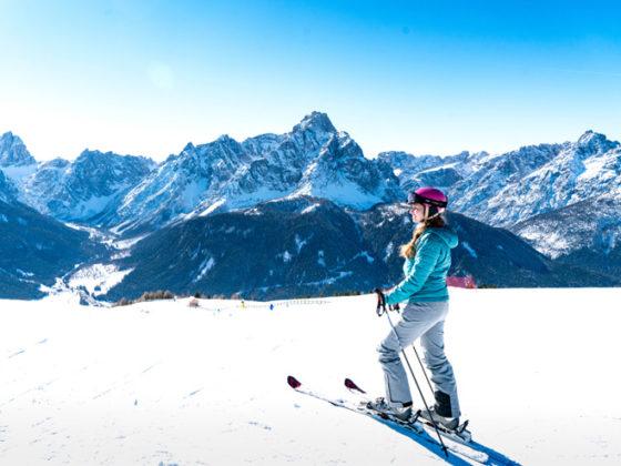 Skigebiet Drei Zinnen Dolomiten