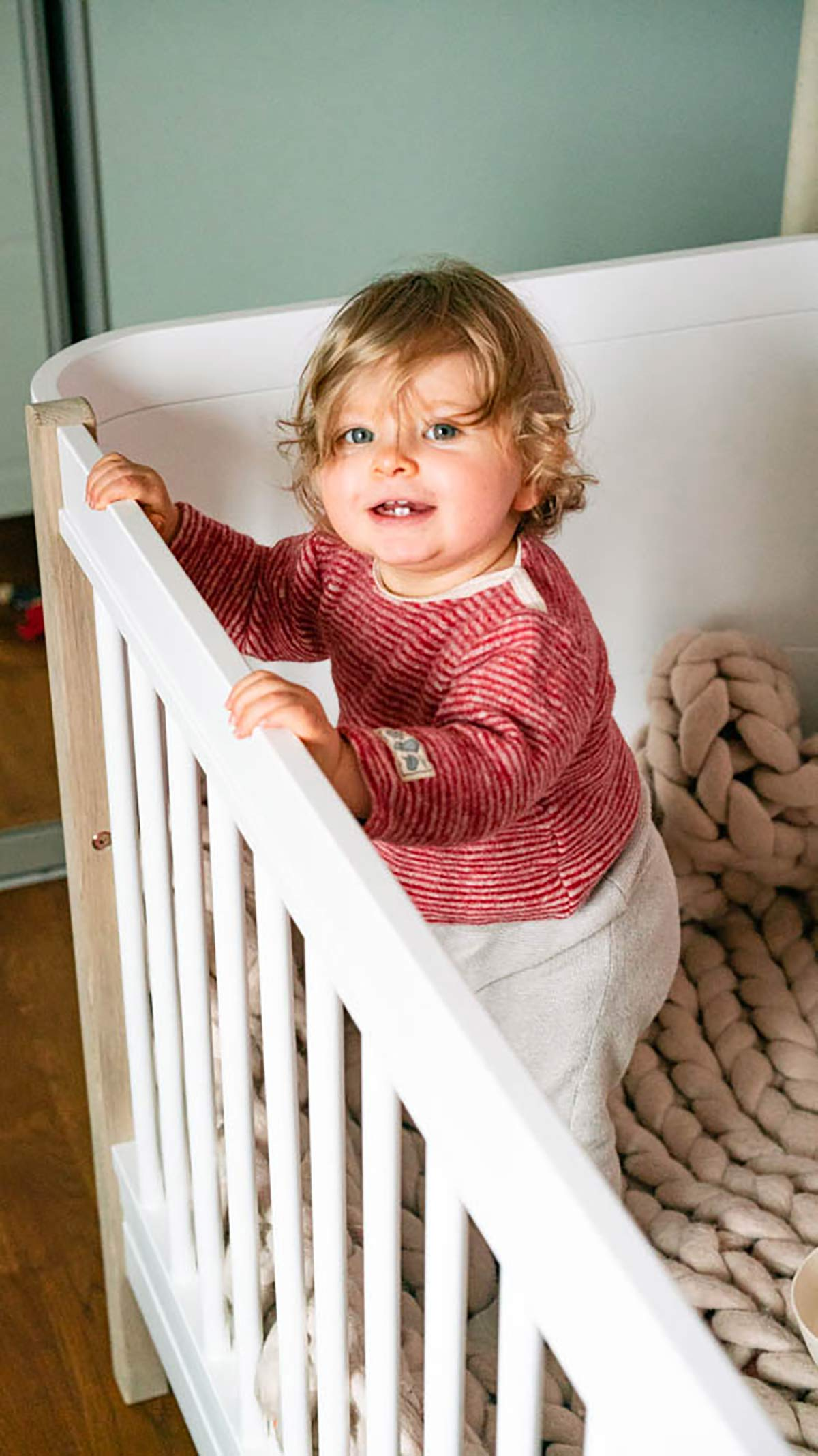 Nachhaltiges Kinderbett