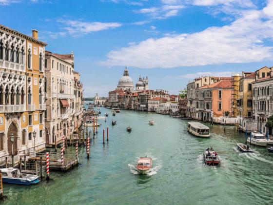 Canal Grande in Norditalien