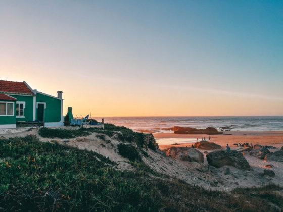 Sonnenuntergang-Algave