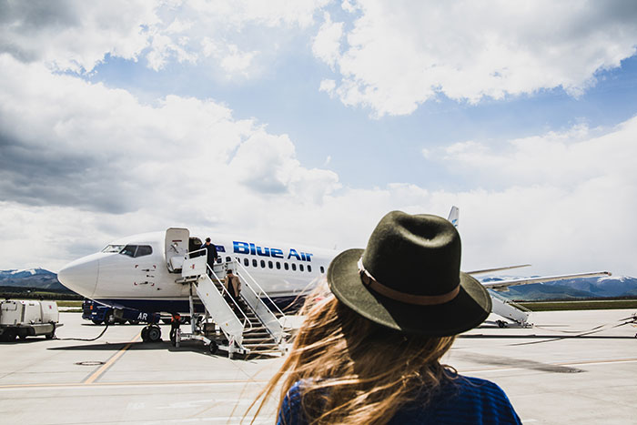 Blue Air Flughafen Stuttgart