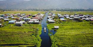 Drone Wasser Boot