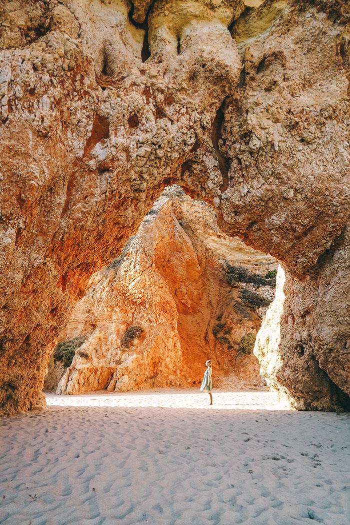 Praia dos Tres Irmaos Portugal