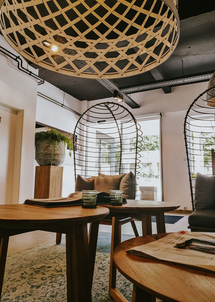 Lounge des Hotel SAND
