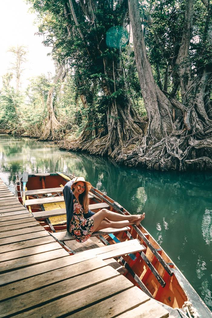 Christine Neder Bootstour Indian River