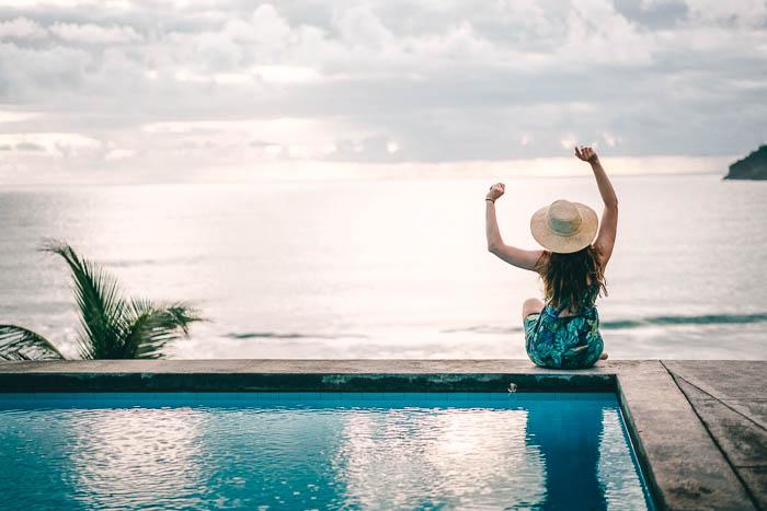 Pagua Bay House Pool mit Aussicht Christine Neder