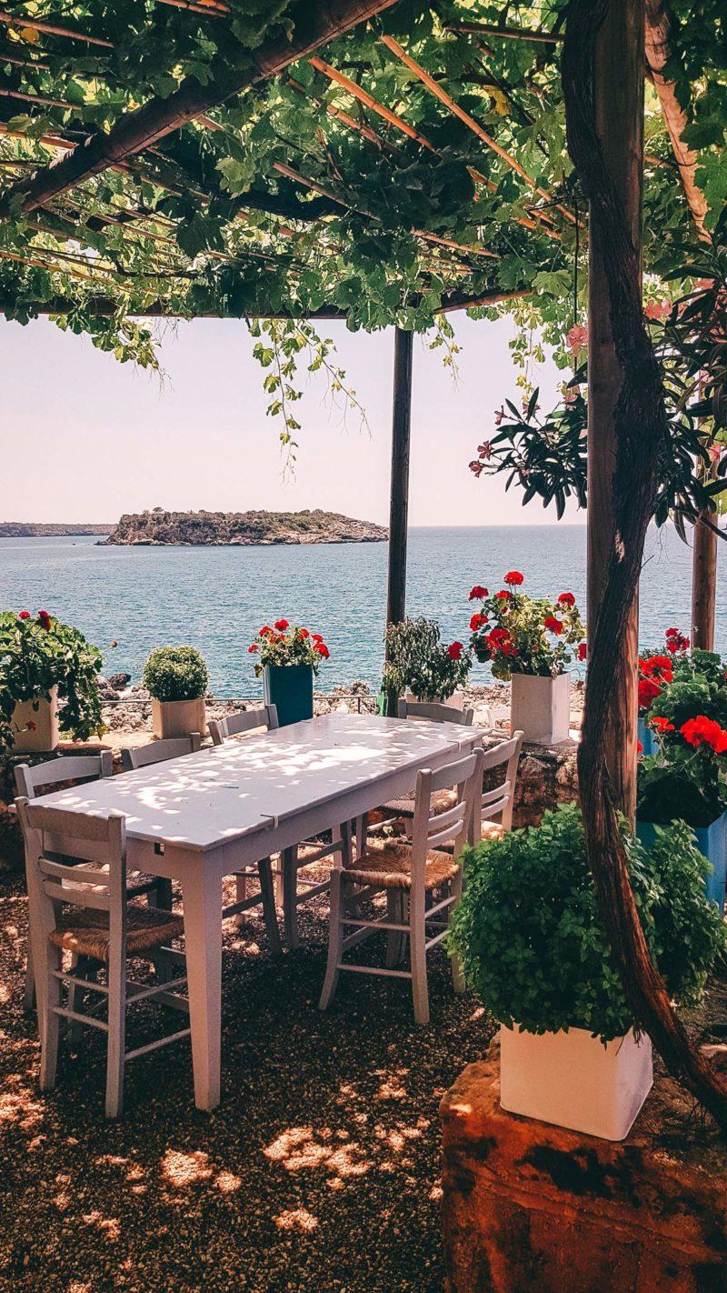 Ausblick Bucht von Kardamili