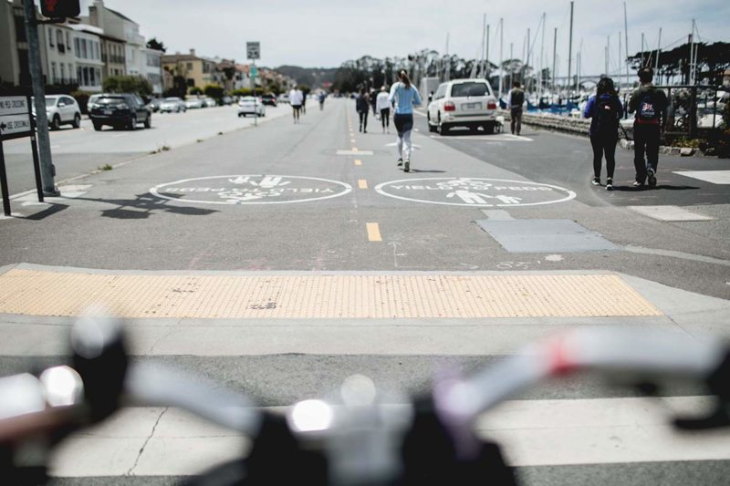 Aussicht von meinem Fahrrad