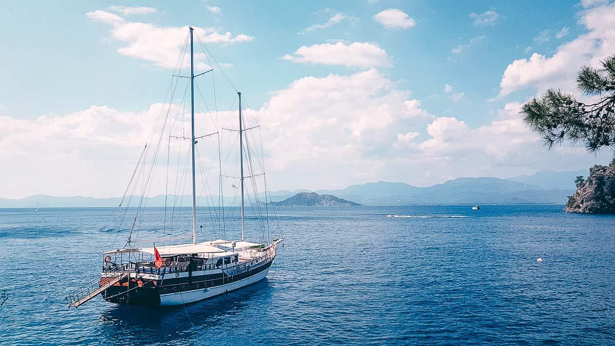 Bootstour in der Kalemya Bucht