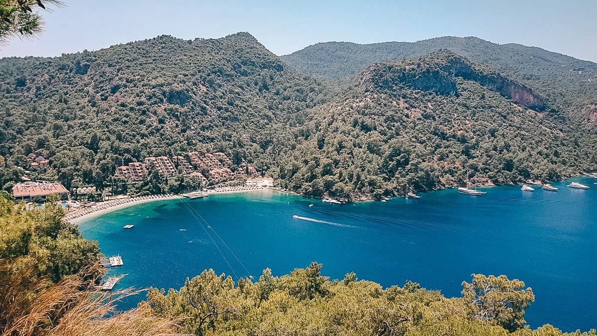 Bucht an der lykischen Küste