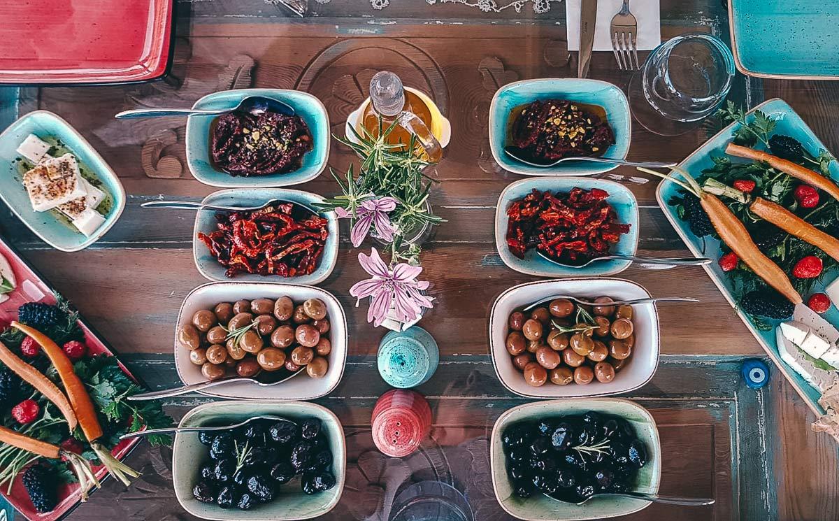 Die leckeren Oliven