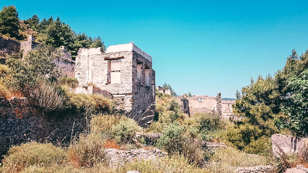 Ruinen von Kayaköy