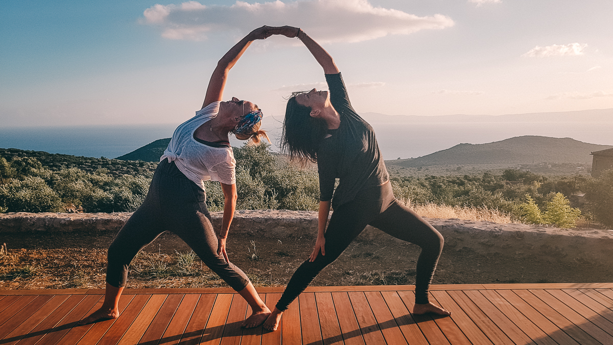 Yoga Retreat in Griechenland