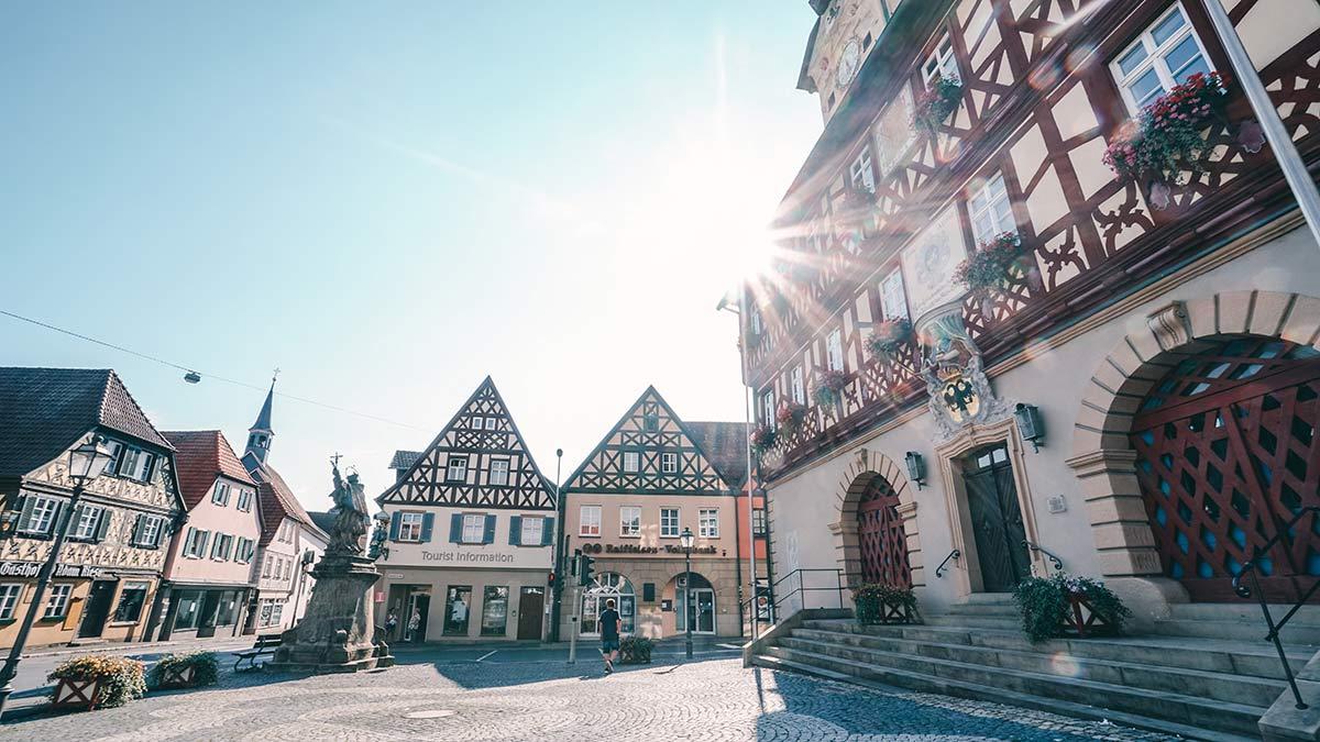 Bad Staffelstein Altstadt Rathaus