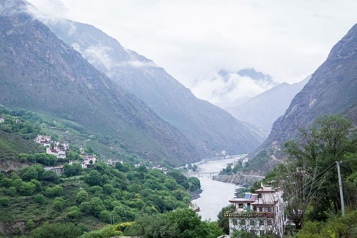 Danba Tal in Sichuan