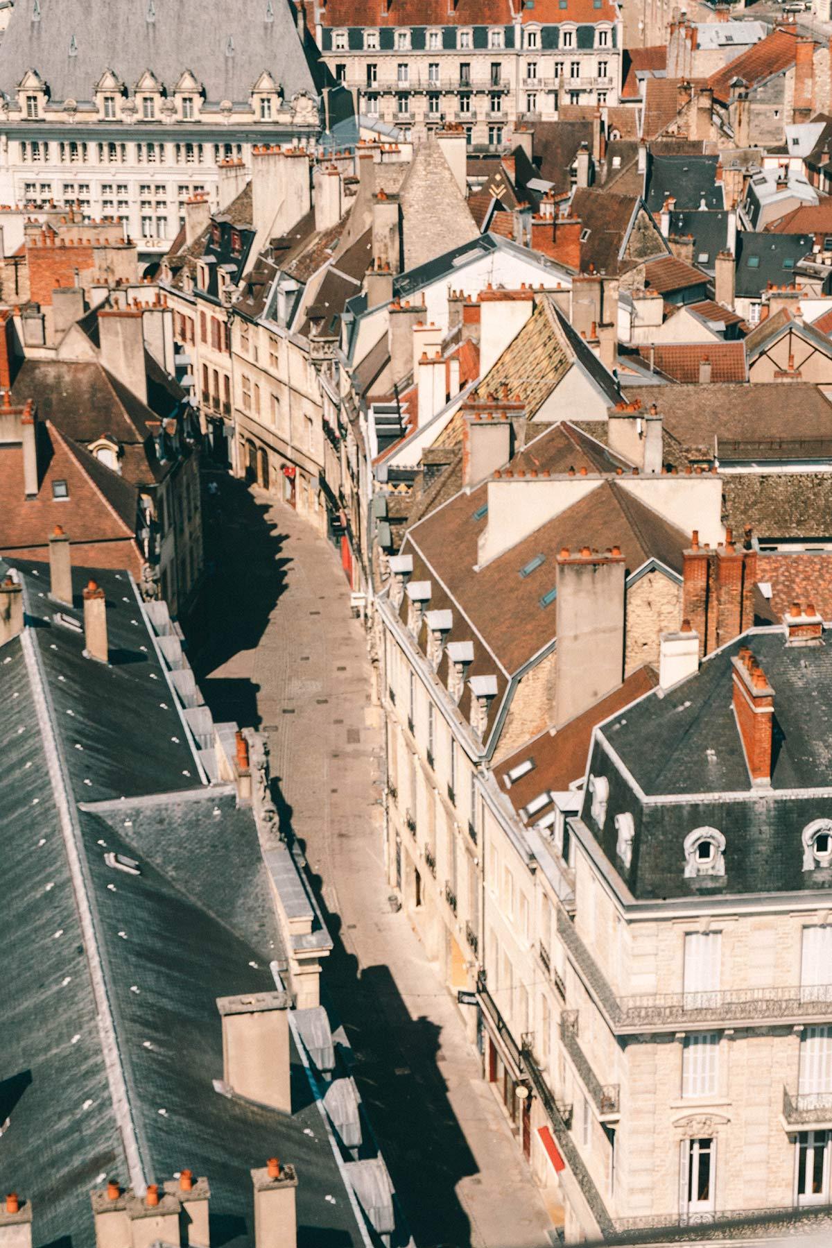 Dijon von oben