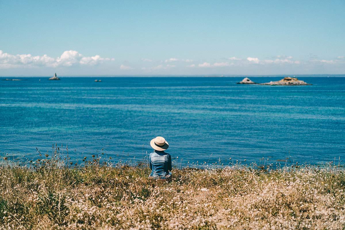 Naturschönheit Glènan Inseln