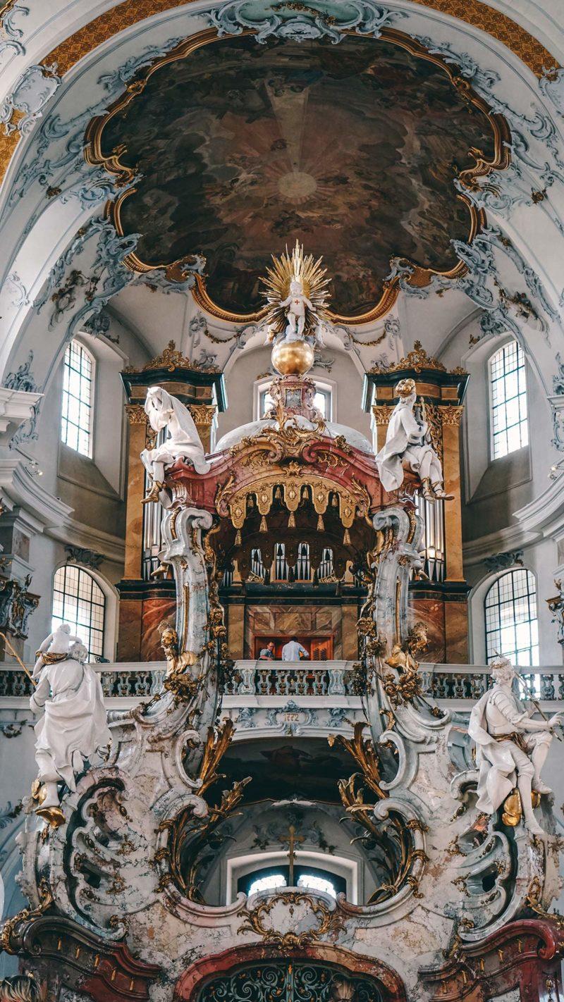 Gnadenaltar in der Basilika Vierzehnheiligen