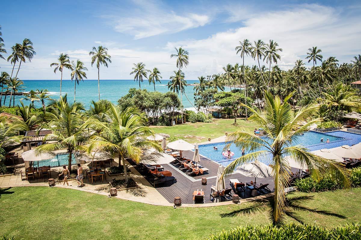 Hotelanlage des Anantara Peace Haven Tangalle