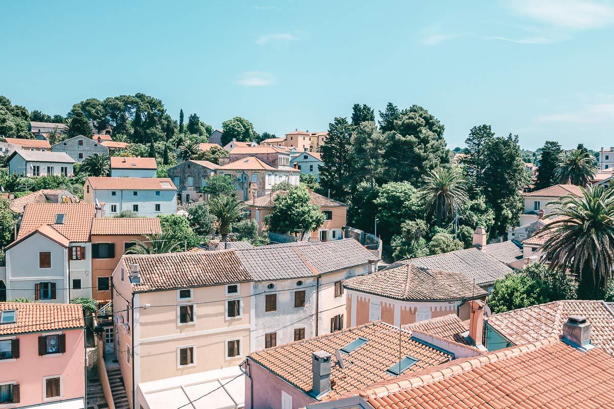 Die Dächer von Veli Losinj