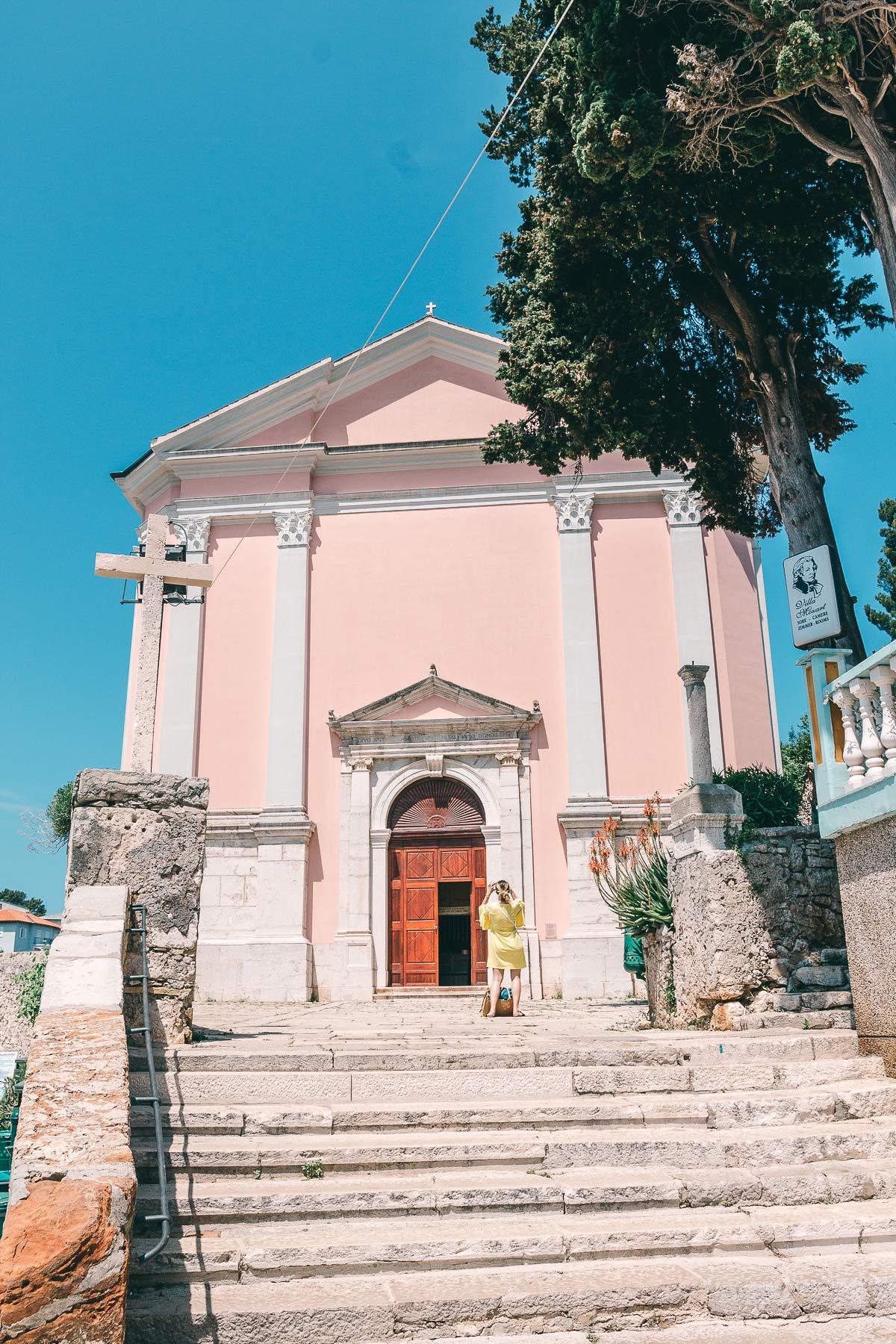 Die Kirche in Veli Losinj