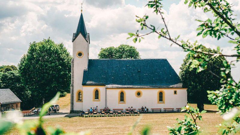 Kirche auf dem Staffelberg