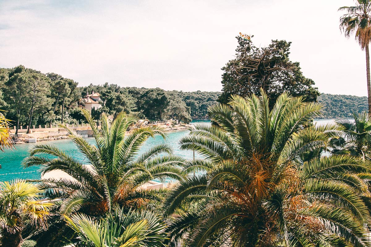Die Aussicht vom Hotel Alhambra