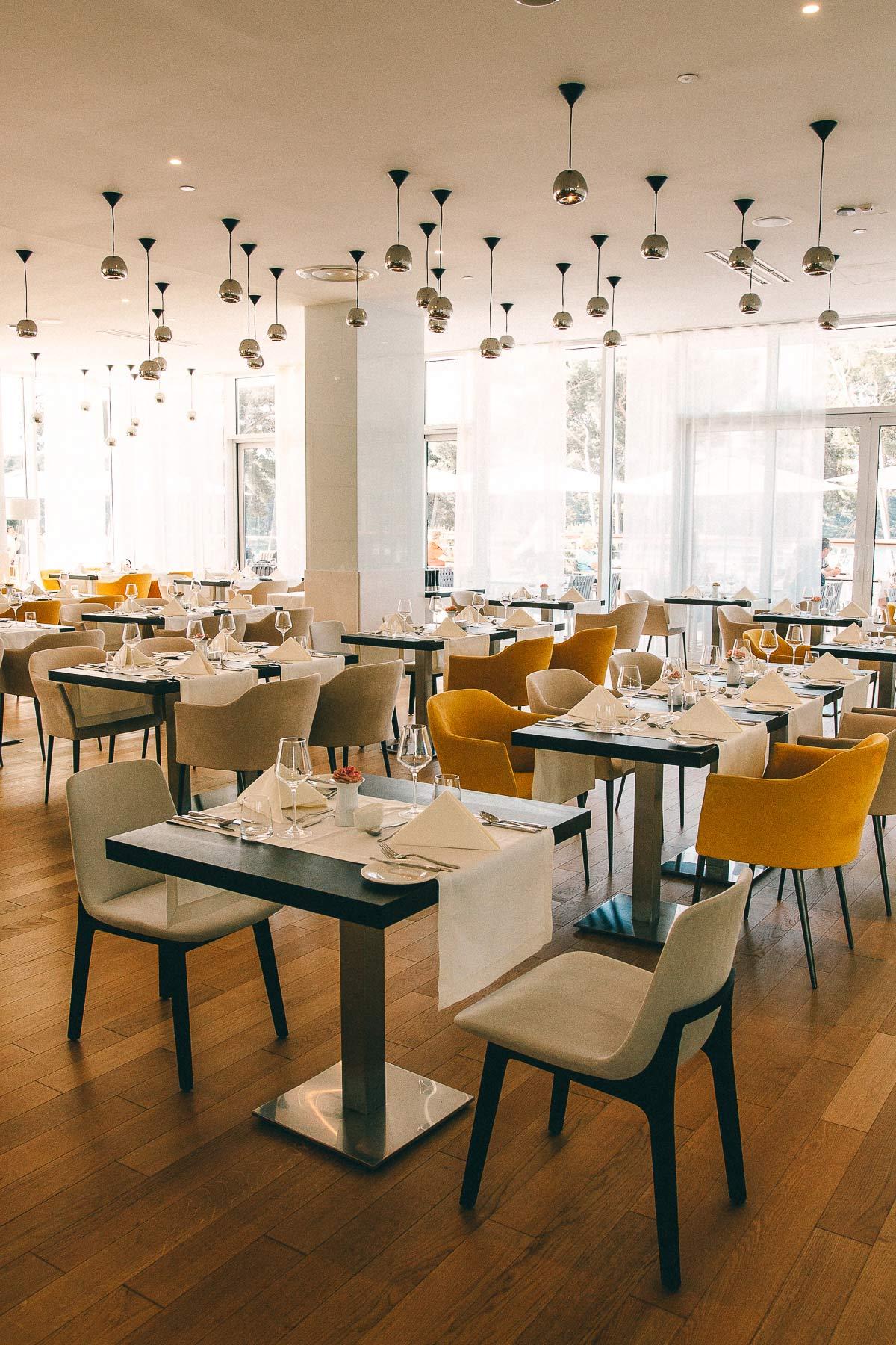 Restaurant der Losinj Hotels & Villas
