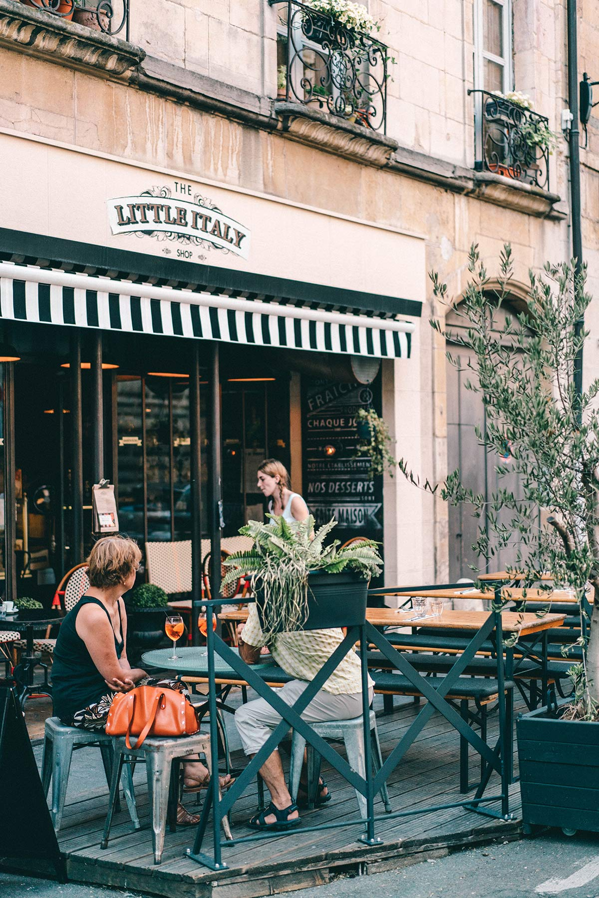 Little Italy in Dijon