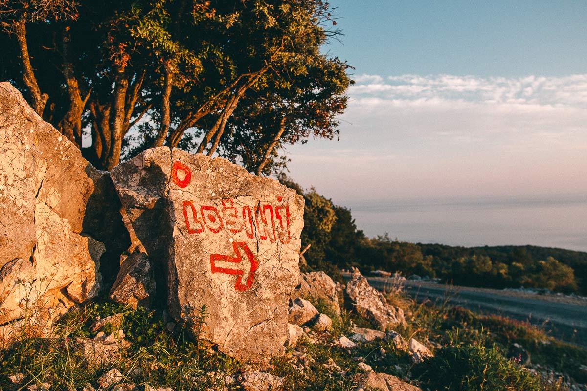 Aussichtspunkt über Losinj