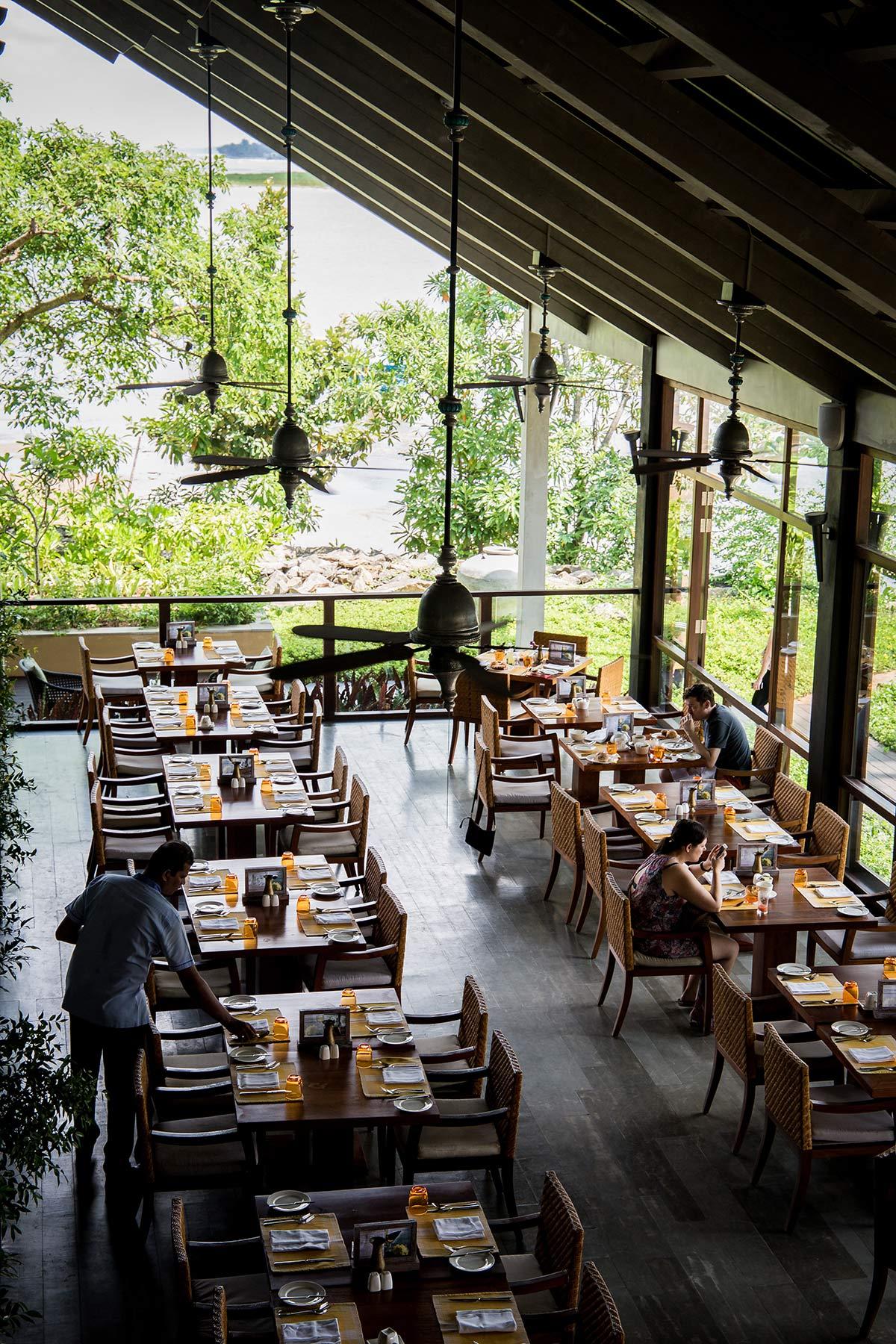 Offene Räume im Anantara Kalutara Resort