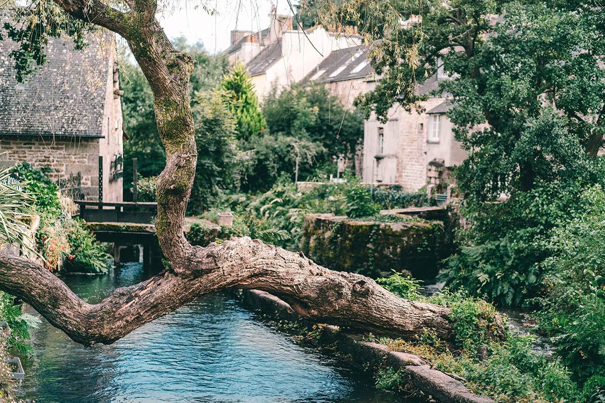 Pont Aven in der Bretagne
