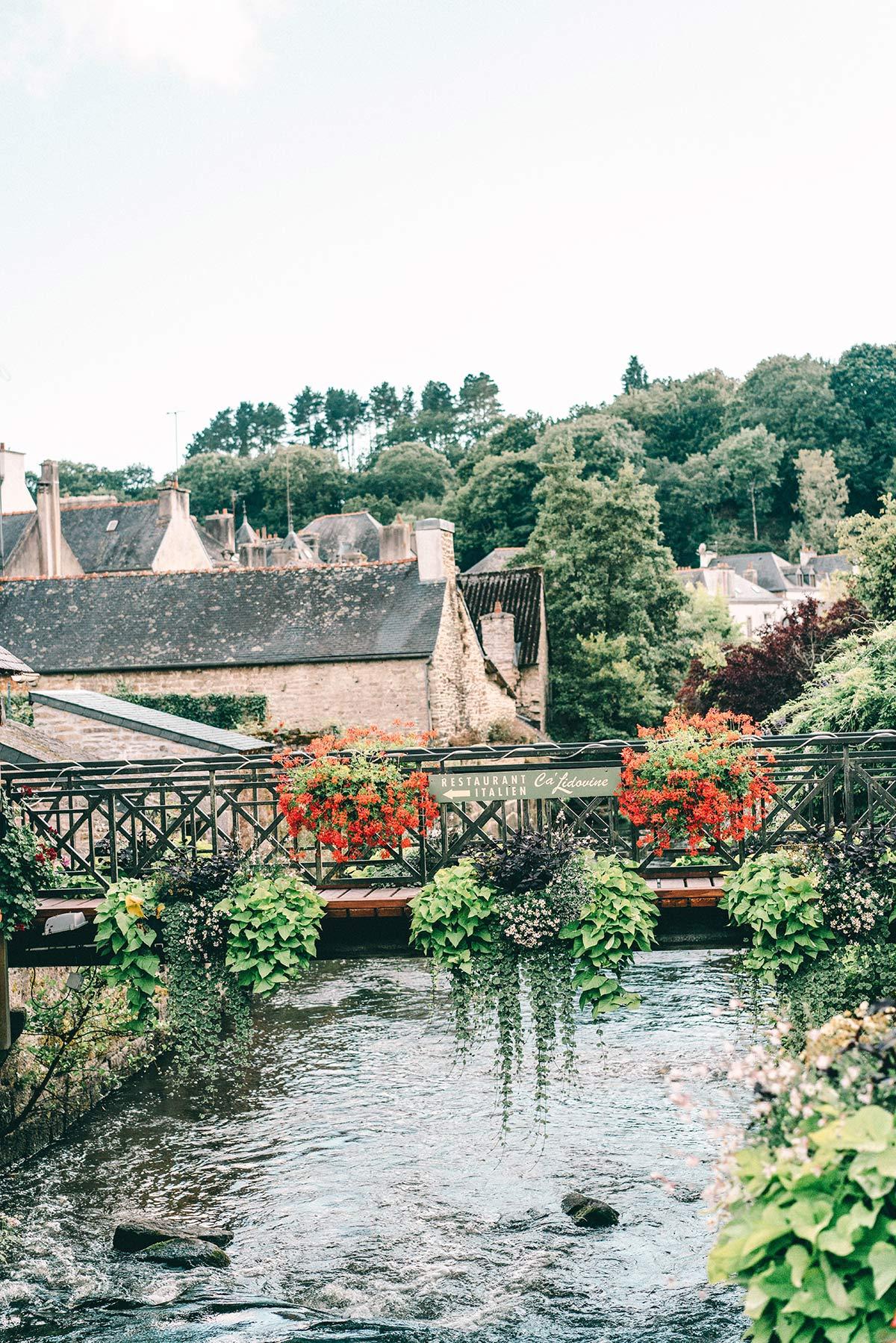 Die wunderschönen Brücken von Pont Aven