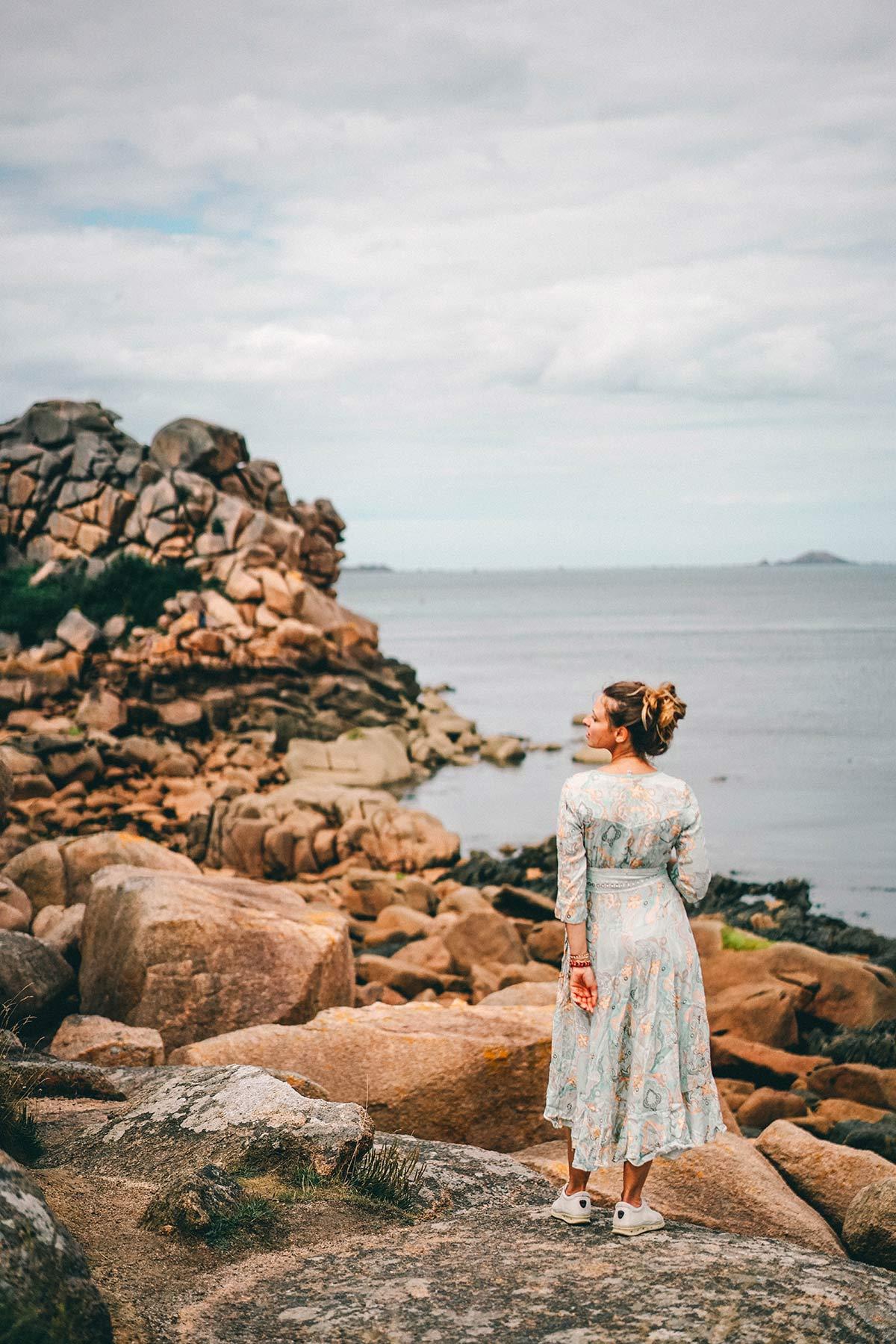 Die Rosa Granitküste in der Bretagne